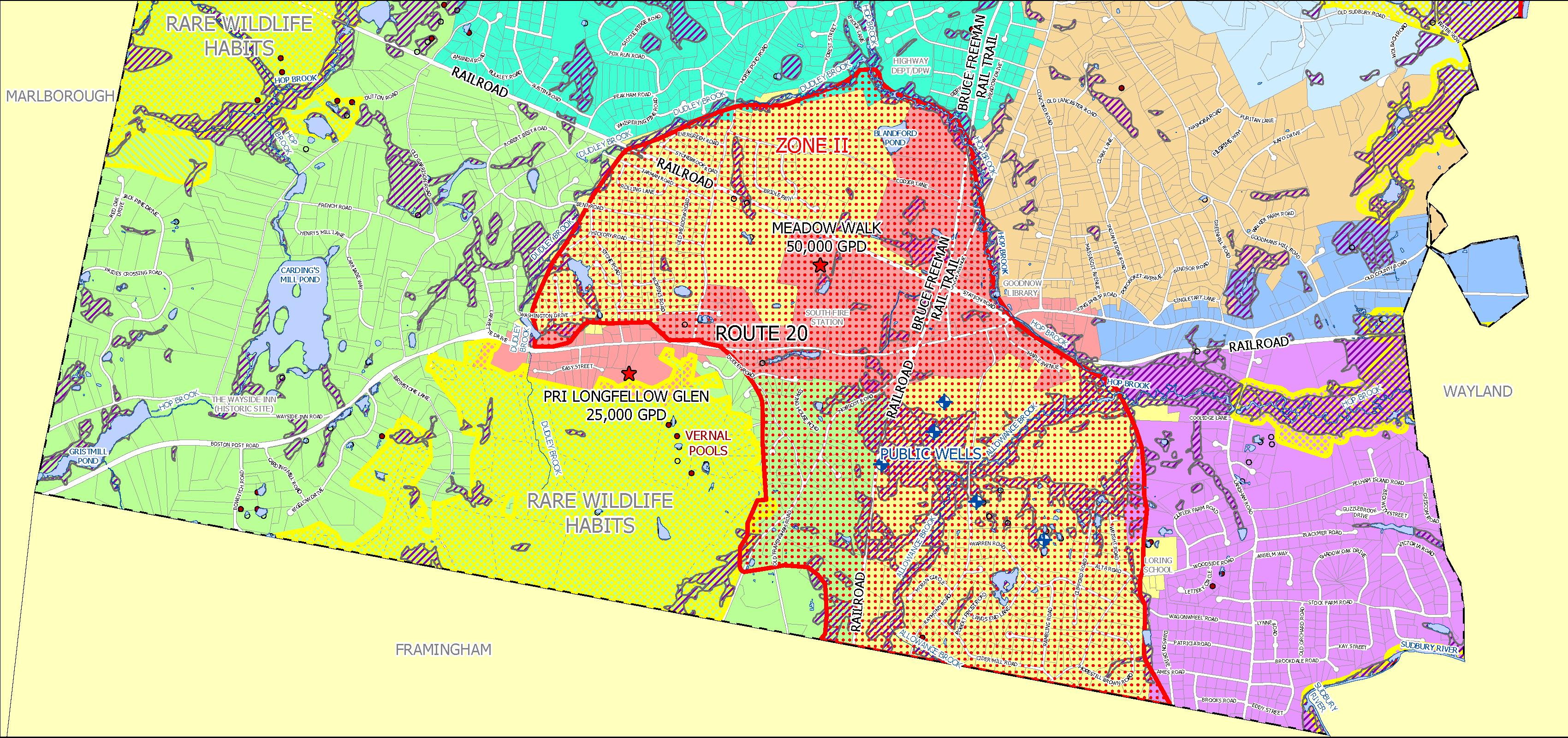 CWMP Regional Map
