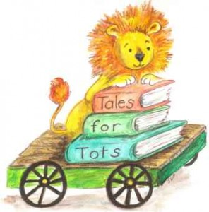Tales for Tots Train Car Logo - Small File for Web