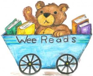 Wee Reads Train Car Logo - Small File for Web